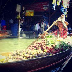 #FloatingMarket #thailand