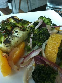Grill Haloumi from Sam's at Louis Boston