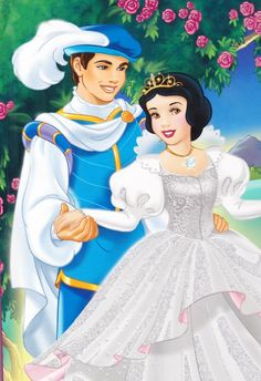 Snow White and her prince pieces) Disney Princess Snow White, Disney Princess Pictures, Snow White Disney, Disney Princess Art, Disney Princess Dresses, Disney Pictures, Disney Art, Disney Cartoon Characters, Disney And Dreamworks