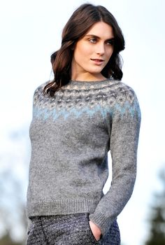 Mohair Icelandic Jumper - Women's Jumpers | Brora