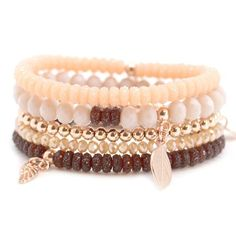 Leuke armbanden gemaakt met Sparkling beads