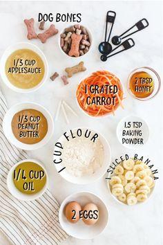 Dog Cake Recipes, Dog Treat Recipes, Dog Food Recipes, Puppy Treats, Puppy Food, Cat Treats, Homemade Dog Treats, Homemade Cakes, Honey Carrots