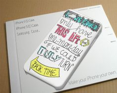 One Direction Moments Lyric inspired Case for iPhone by NiniThowok, $13.99