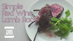 Quick Simple recipe for a deliciously juicy a flavourful lamb racks, for that all important dinner. Rack Of Lamb, Food Photo, Red Wine, Easy Meals, Beef, Dinner, Recipes, Meat, Dining