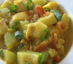 Zucchini Curry - Indian Food Recipe Video by Eat East Indian Zucchini Curry, Indian Food Recipes, Ethnic Recipes, Curry Dishes, Middle Eastern Recipes, Culinary Arts, Fruit Salad, Food Videos, Potato Salad