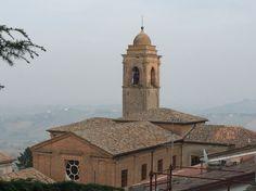 Bertinoro town, roofs, Italy