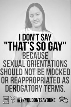 17 Duke Students Speak Out Against Homophobic, Transphobic, And Sexist Language