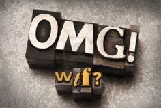 The phrase OMG WTF done in letterpress type Relationship Stages, Darwin Awards, Wtf Moments, Silver Fabric, Narcissistic Abuse, Emotional Abuse, Domestic Violence, Weird Facts, Letterpress