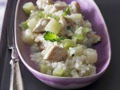 Risotto mit Kohlrabi und Hähnchen ist ein Rezept mit frischen Zutaten aus der Kategorie Hähnchen. Probieren Sie dieses und weitere Rezepte von EAT SMARTER!