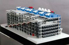 Models - Centre Georges Pompidou - Rpf