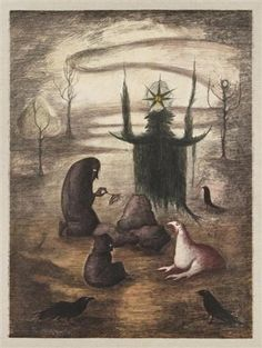 Leonora Carrington: Drue, 1992