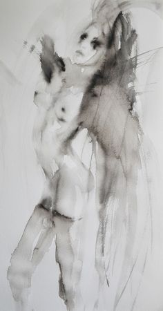 """Saatchi Online Artist: Fiona Maclean; Acrylic, 2012, Painting """"Leticia"""""""