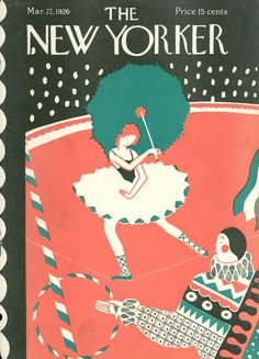 Ilonka Karasz : Cover art for The New Yorker 58 - 27 March 1926