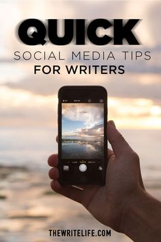 If you're not using these social media platforms to build your writing brand, you're missing out!