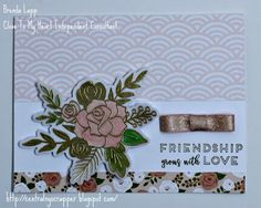 Welcome to our Close to My Heart Hello Lovely Blog Hop! On this hop we will be showcasing items created by several talented Close To My Hear...
