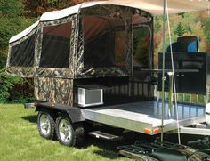 Cool Atv Camper Trailer Tent Trailer Atv Camping