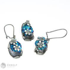 Ezüst medál és fülbevaló szett achát kővel Drop Earrings, Jewelry, Jewlery, Jewerly, Schmuck, Drop Earring, Jewels, Jewelery, Fine Jewelry