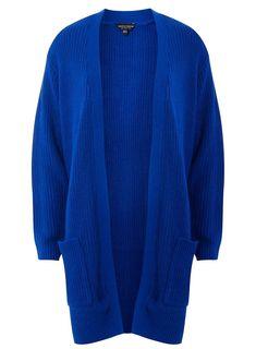 6b7eb89cbf Cobalt Longline Cardigan - Sweaters - Clothing - Dorothy Perkins United  States Longline Cardigan