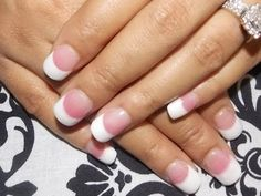 DIY Pink & White Acrylic Tutorial (with nail tips)