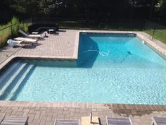 View gallery of jobs Chituk Pools, LTD has completed or serviced. Also check out some cool lighting ideas for your pool! Backyard Pool Landscaping, Backyard Pool Designs, Small Backyard Pools, Swimming Pools Backyard, Swimming Pool Designs, Patio, Indoor Pools, Small Pools, Pool Decks