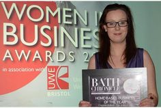 Former Bath Spa University student wins Women in Business Award for Fun Science Ltd
