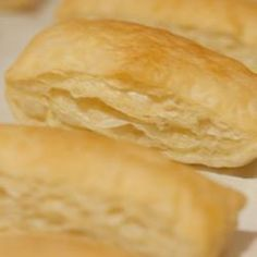 Easy puff pastry @ allrecipes.co.uk