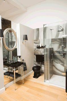 C.P. Hart London in black #cphartmanchester #bathroom ideas