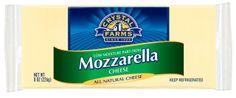 Crystal Farms Mozzarella Cheese