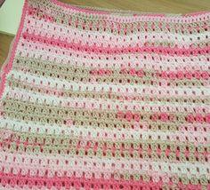 Baby blanket, easy pattern too!