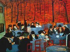 Marianne Werefkin - The Beer Garden