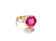 A Rubellite Ring