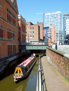 The Rochdale Canal, Manchester, England