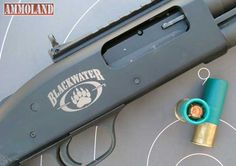 The Mossberg 590A1 Blackwater Edition Shotgun  was built for combat from the ground up.