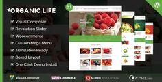 Organic Life v2.0 – Ecology & Environmental WordPress Theme