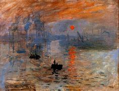 Larger view of Claude Monet: Impression: Sunrise - 1872