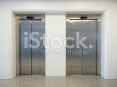 Modern elevators royalty-free stock photo