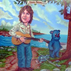 Gram Parsons by Mr. Hooper 2015