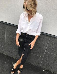 Le parfait look noir et blanc #82
