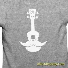 Ukulele Mustache =) #ukemustache ukecompany.com