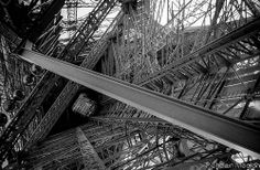Eiffel Tower Engineering, the skeleton of the structure...Inspiration for your Paris vacation from Paris Deluxe Rentals