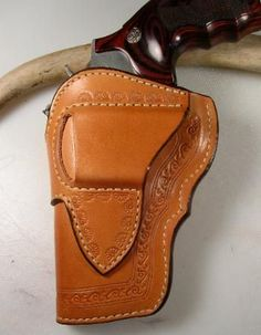 Posts about Gun holsters written by Thanh N. Pistol Holster, Revolver, Leather Box, Leather Tooling, Custom Leather Holsters, Western Holsters, Leather Crafting, Leather Workshop, Leather Pattern