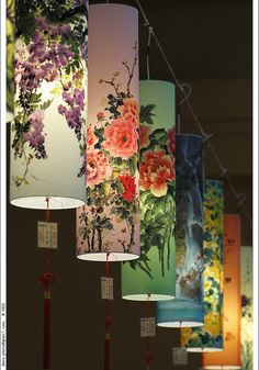 Chinese lanterns #Taiwan 台灣 - make one of these out of wall paper for livingroom.