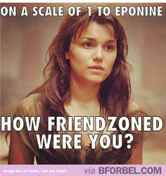 How Friendzoned Were You? #Les Miserables #Eponine #ForeverAlone