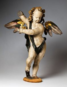 Figure of an angel from the epitaph of Melchior von Thilisch the Elder and his wife Magdalene née von Orth by Gerhard Hendrik, 1604, Muzeum Narodowe we Wrocławiu (MNWr)