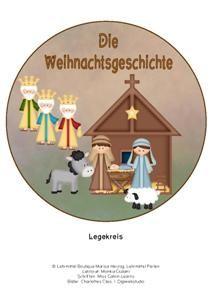 Die Weihnachtsgeschichte als Legekreis.
