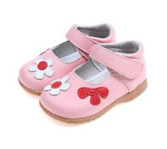 2017 Girls Princess New Spring Soft Genuine Leather Simple Cute Flower – Babymoore & Co