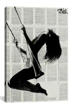 'The Lightness of Being Again' Giclée Print Canvas Art
