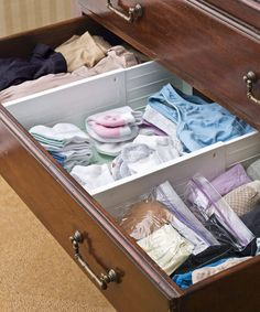 How to organize your overflowing dresser drawer