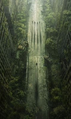 overgrown city ruins - Google Search