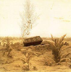 Caspar David Friedrich - Coffin and Grave